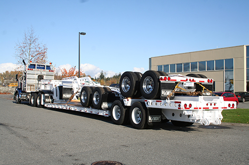 9 Axel & Step Deck Trailers