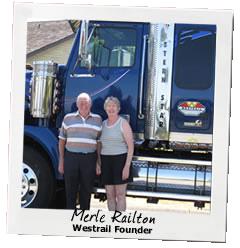 Westrail Founders - Merle & Phyllis Railton