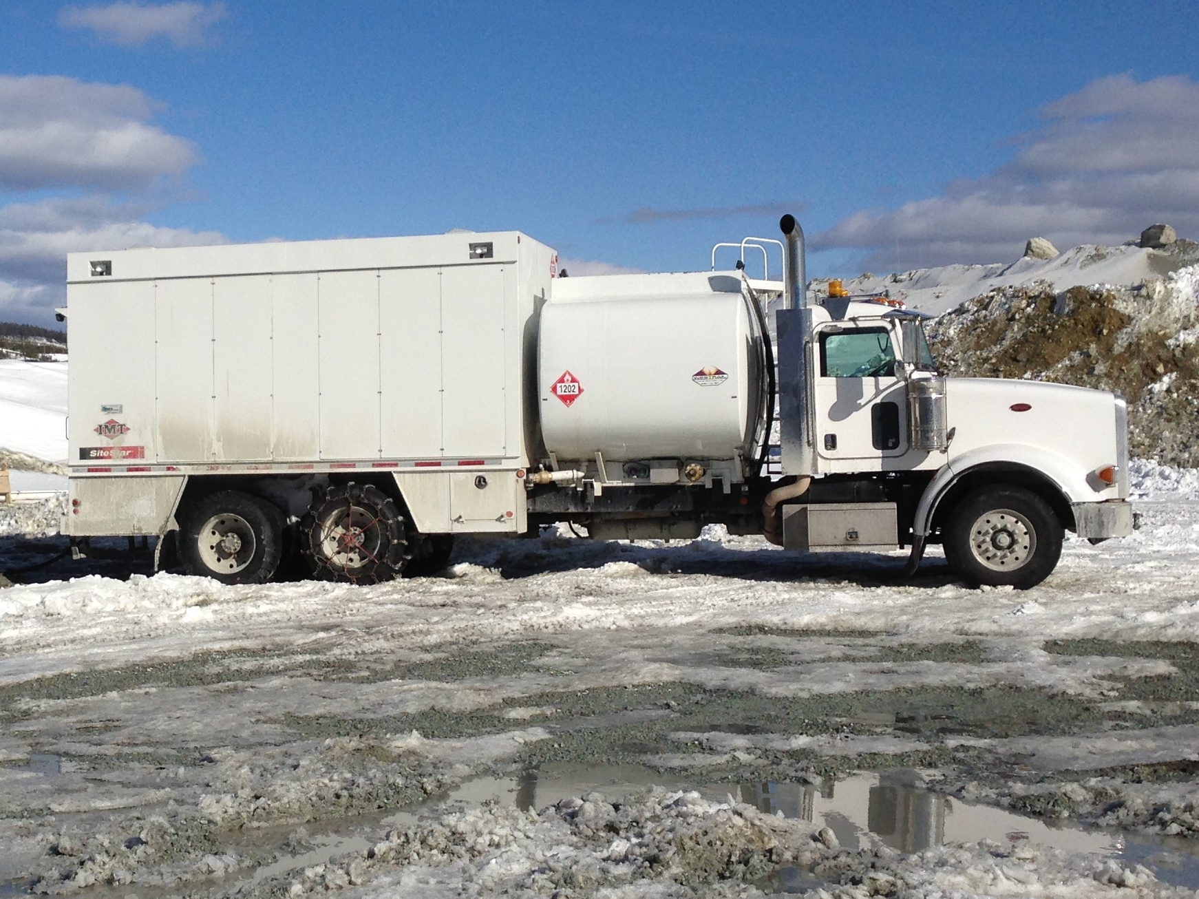 Service Fuel Truck