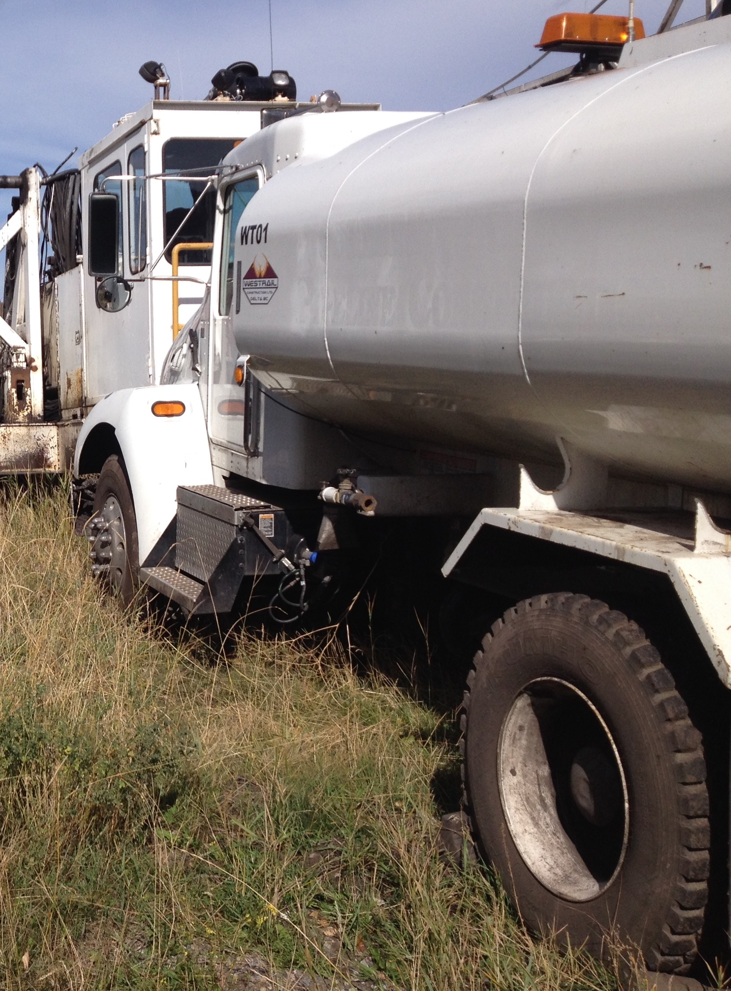 Water Truck for Dust Control & Drill Service